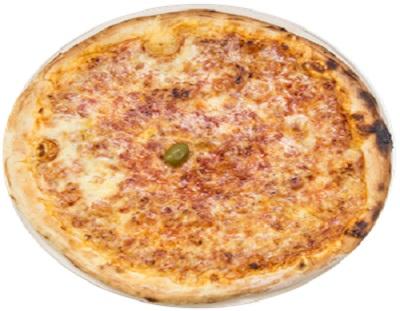 Pizza sa gljivama sirom i paprikom