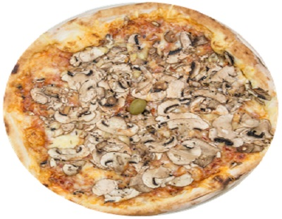 Pizza sa šampinjonima i lukom