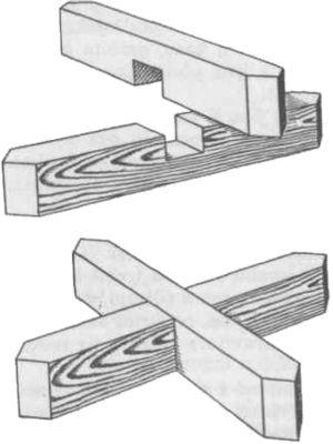 Postolje u obliku križnice za jednu košnicu